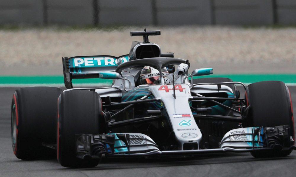 Hamilton con la pole en el Gran Premio de España