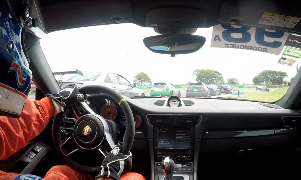 Video on board : Carlos Rodríguez en su Porsche GT3 en la fecha 2 del SRL