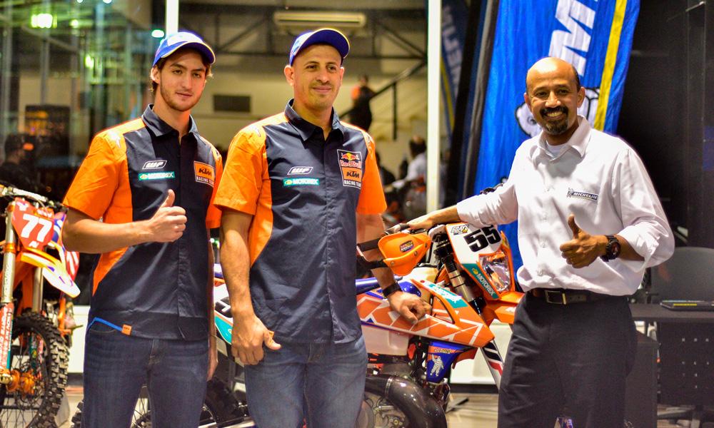KTM y Michelin presentaron su equipo de Enduro y Cross Country