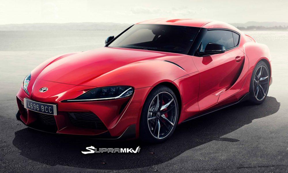 Así podría ser el Toyota Supra 2019