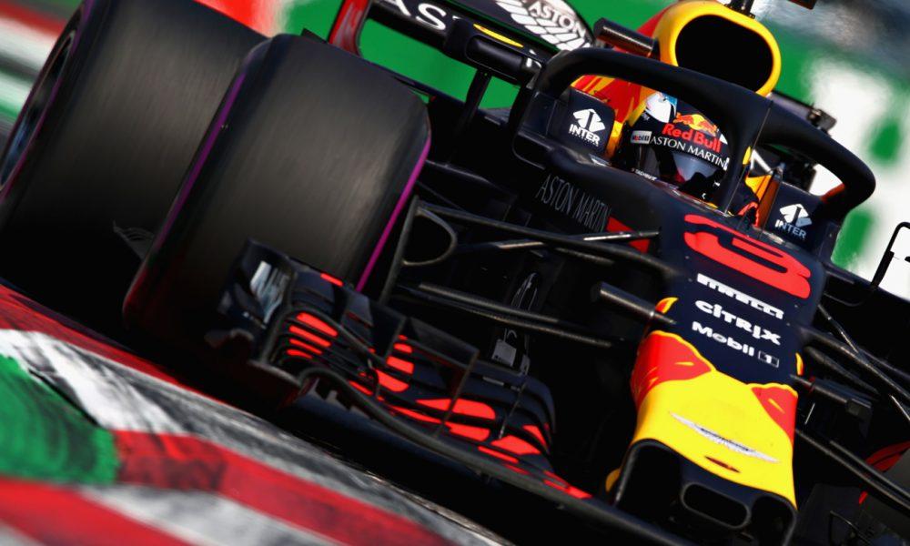 Daniel Ricciardo con la pole en el Gran Premio de México