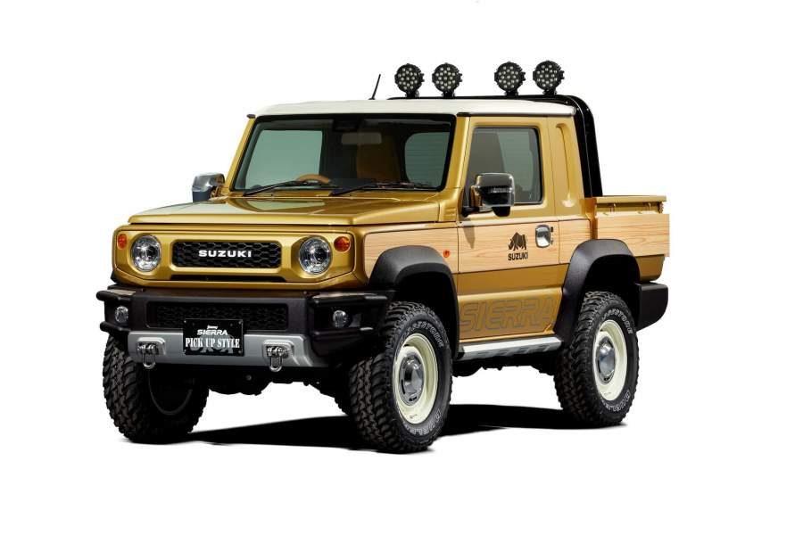 Suzuki presentará un Jimny pick-up en el Salón de Tokyo
