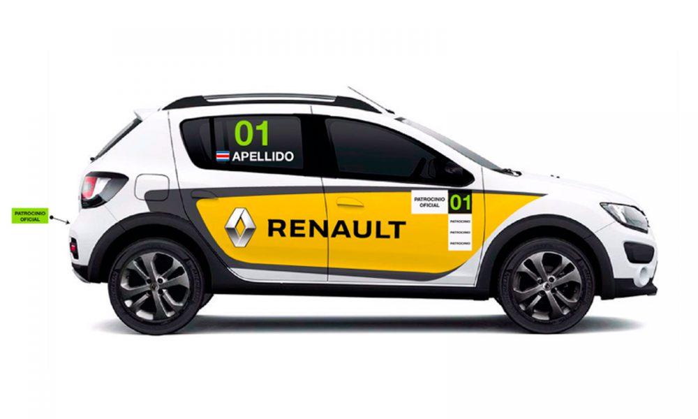 Renault presentó la Copa Stepway de rally