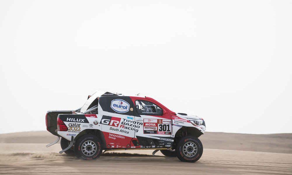 Nasser Al-Attiyah gana la novena etapa del Rally Dakar