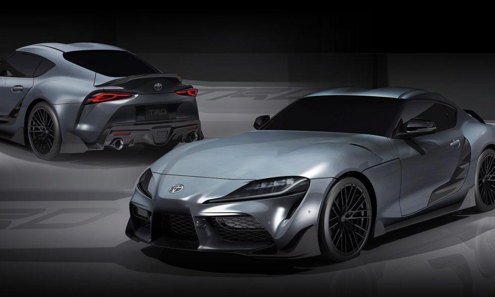 Toyota presenta al Supra TRD Concept 2019