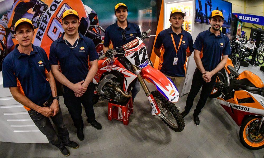 Repsol presentó su equipo de motociclismo