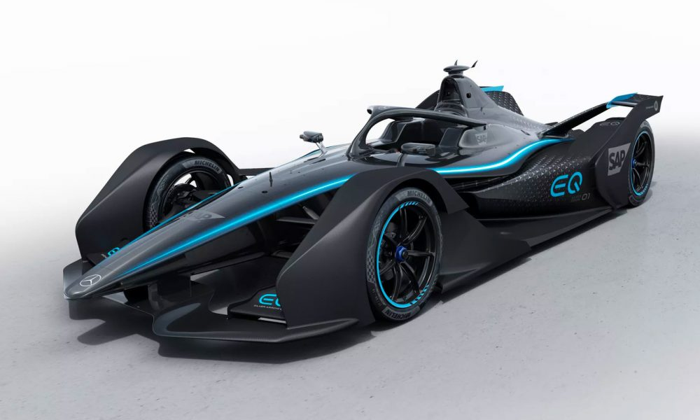 Mercedes Benz revela su monoplaza para la Fórmula E