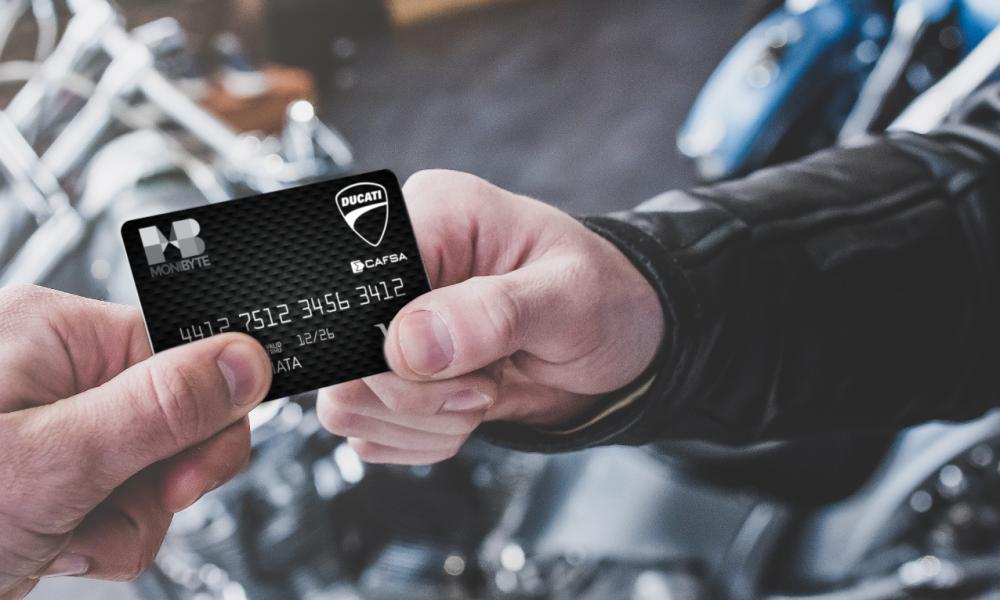 Ducati lanza su propia tarjeta de crédito