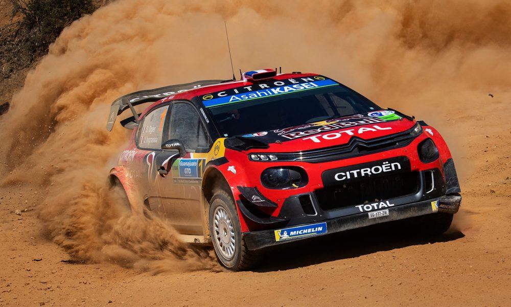 Sebastien Ogier gana el rally de México