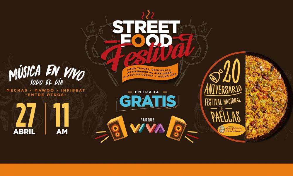 El sabor del Street Food regresa a Parque Viva