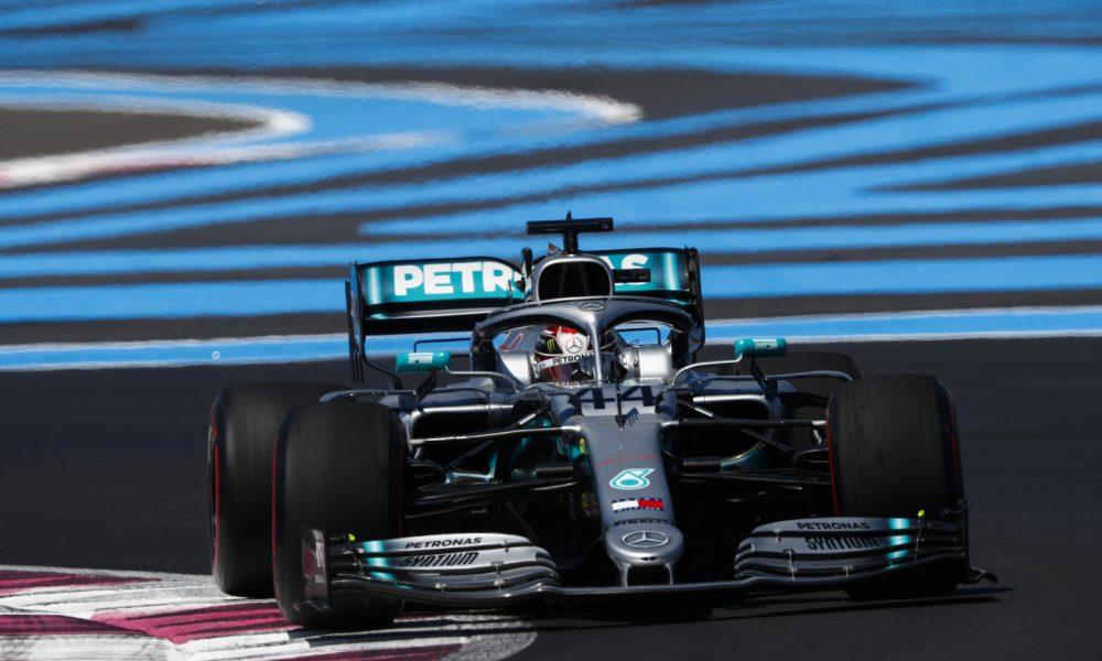Hamilton con la pole en el GP de Francia
