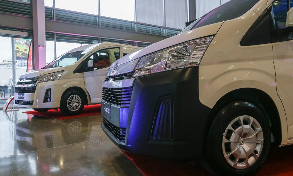 Purdy Motor presentó la nueva Toyota Hiace