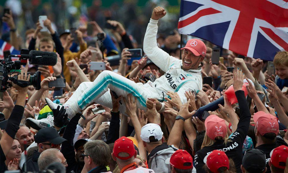 Hamilton ganó el Gran Premio de Gran Bretaña