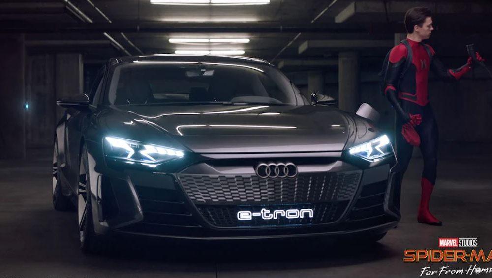 Audi es protagonista de la película Spider-Man: Lejos de Casa