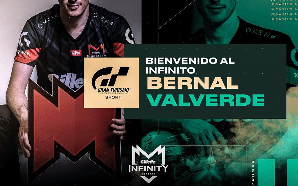 Bernal Valverde se une al equipo Infinity Esports