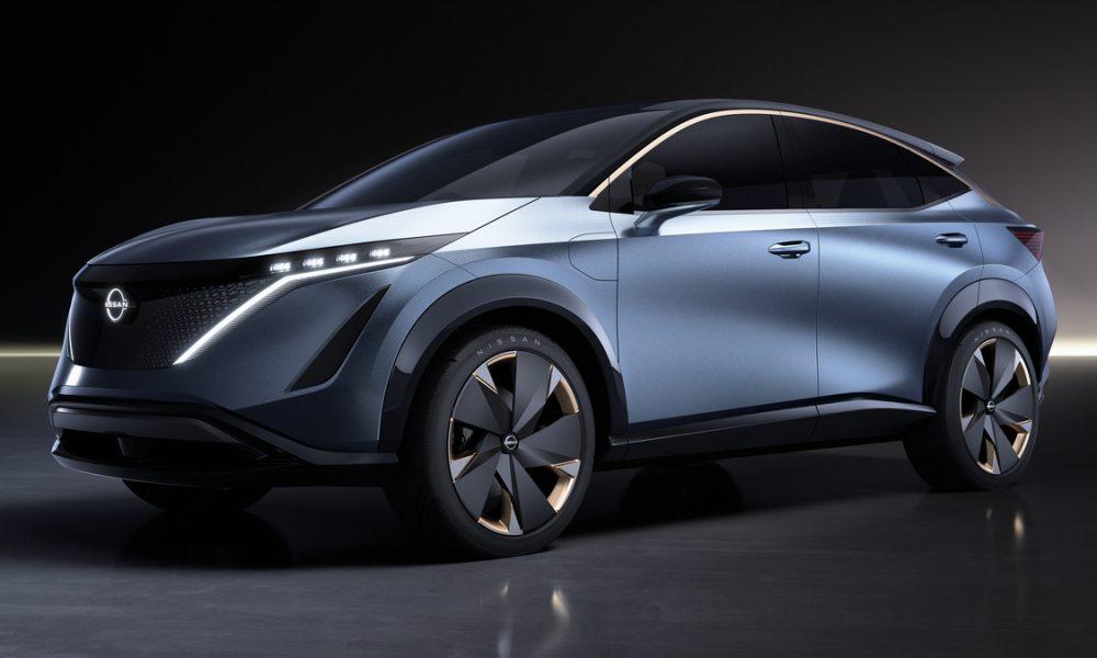 Nissan presenta el prototipo Ariya en el Salón del Automóvil de Tokio