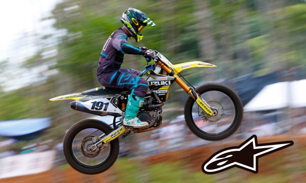 Roberto Castro compite este fin de semana en la final de motocross de Brasil