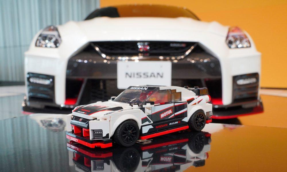 LEGO da vida al Nissan GT-R NISMO