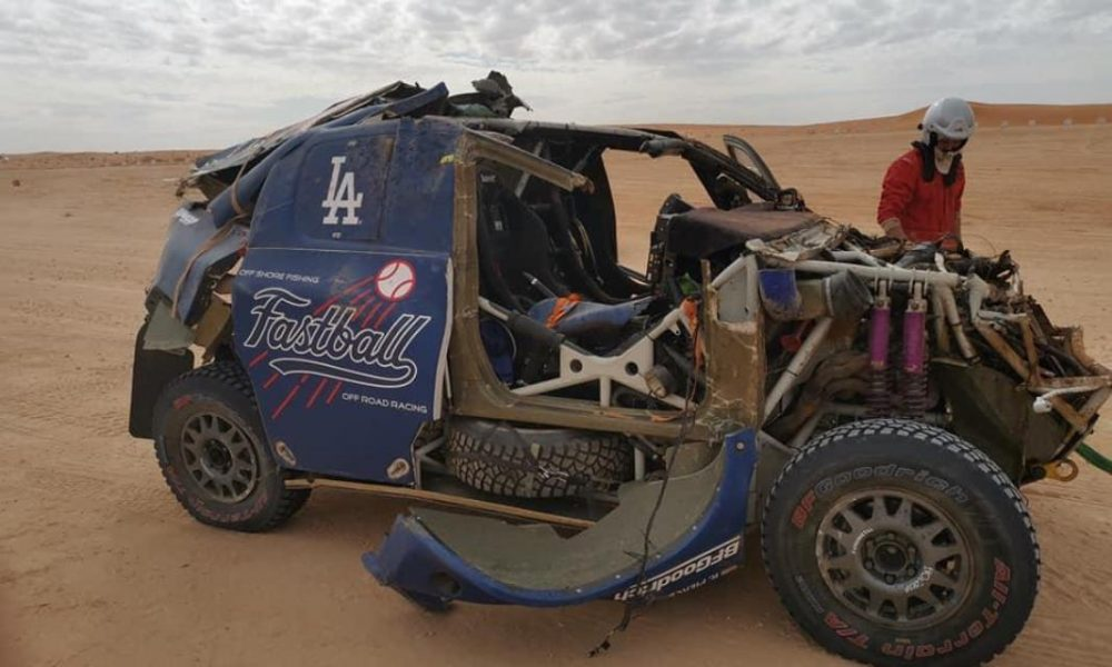Video : Fuerte accidente de Bobby Patton en el Dakar