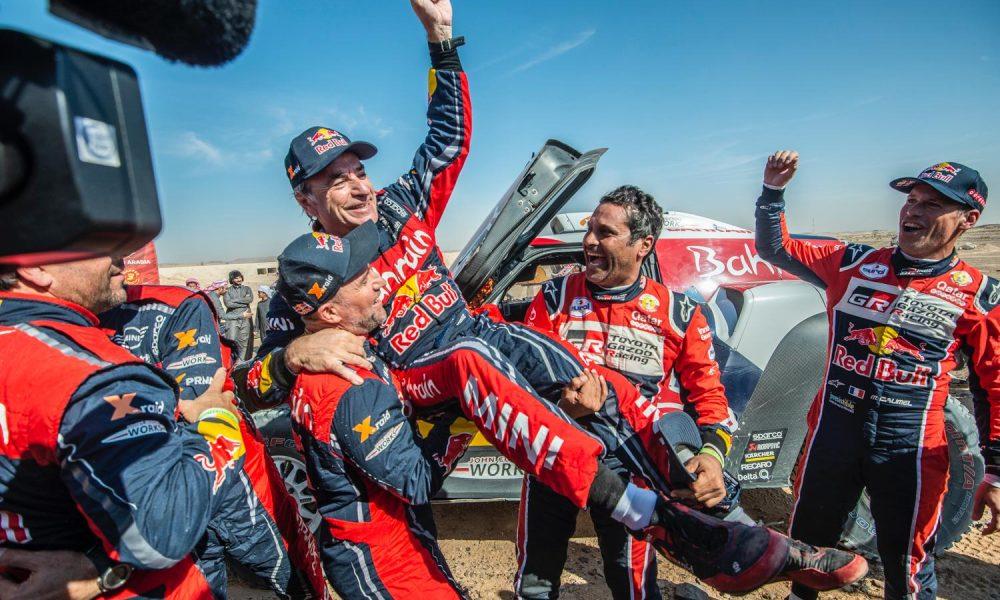 Carlos Sainz gana su tercer Rally Dakar