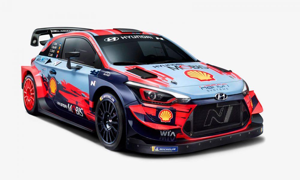 Hyundai Motorsport luchará por los dos títulos del WRC en 2020