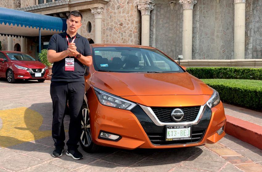 Presentación del nuevo Nissan Versa desde México
