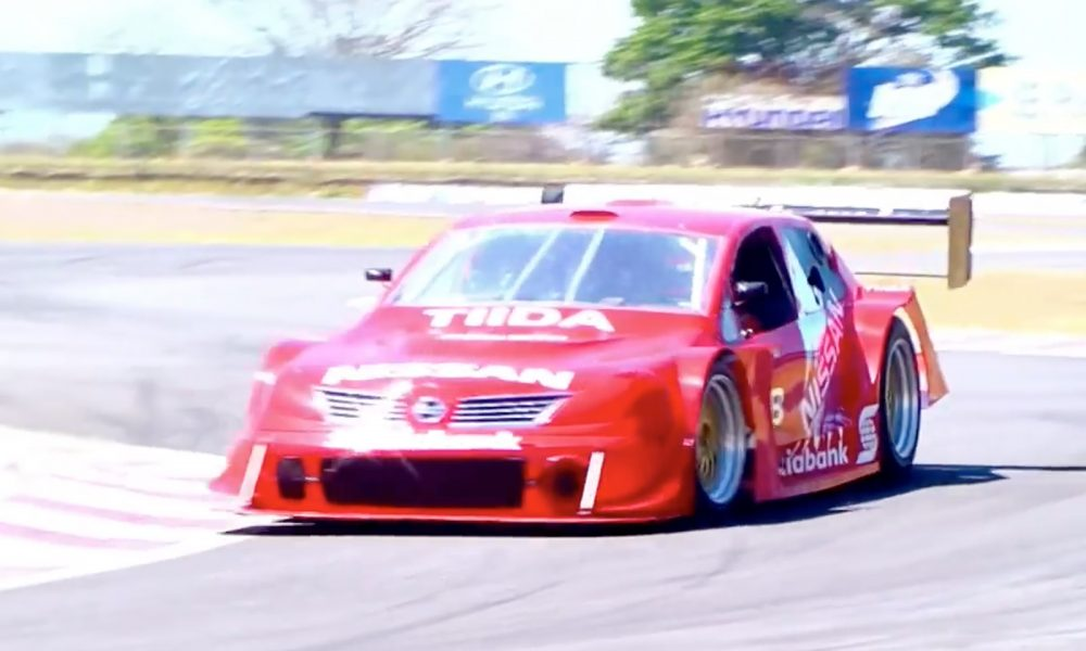 Video : Nissan Tiida GT1