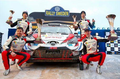 Elfyn Evans gana el Rally de Suecia