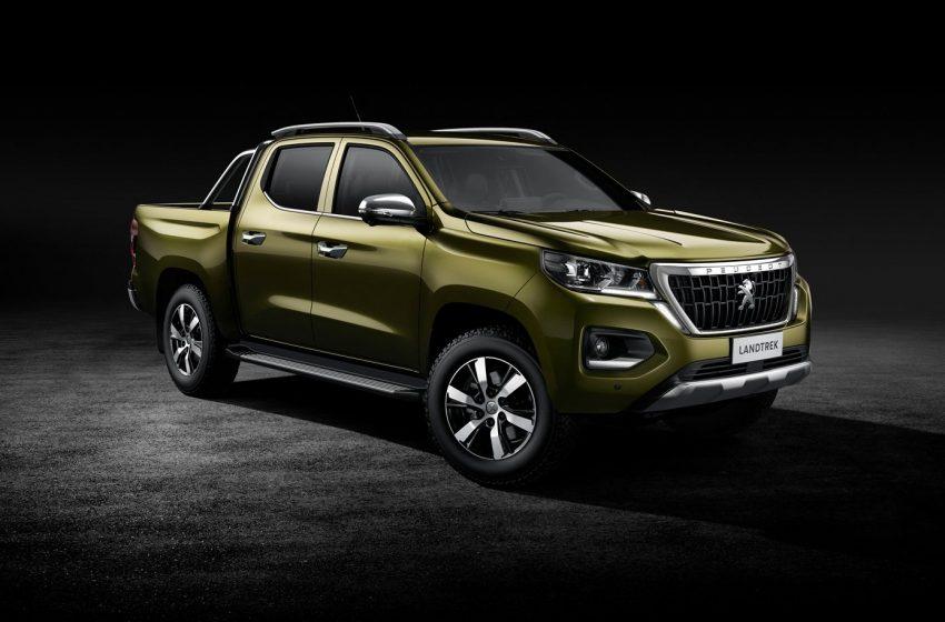 Peugeot presenta el Landtrek su nuevo pick up