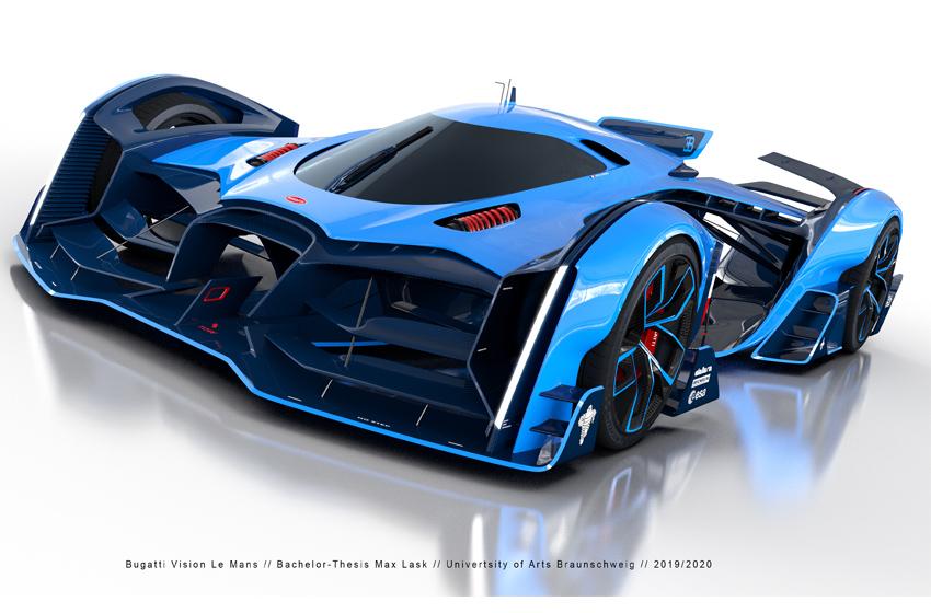 Presentado el Bugatti Vision Le Mans