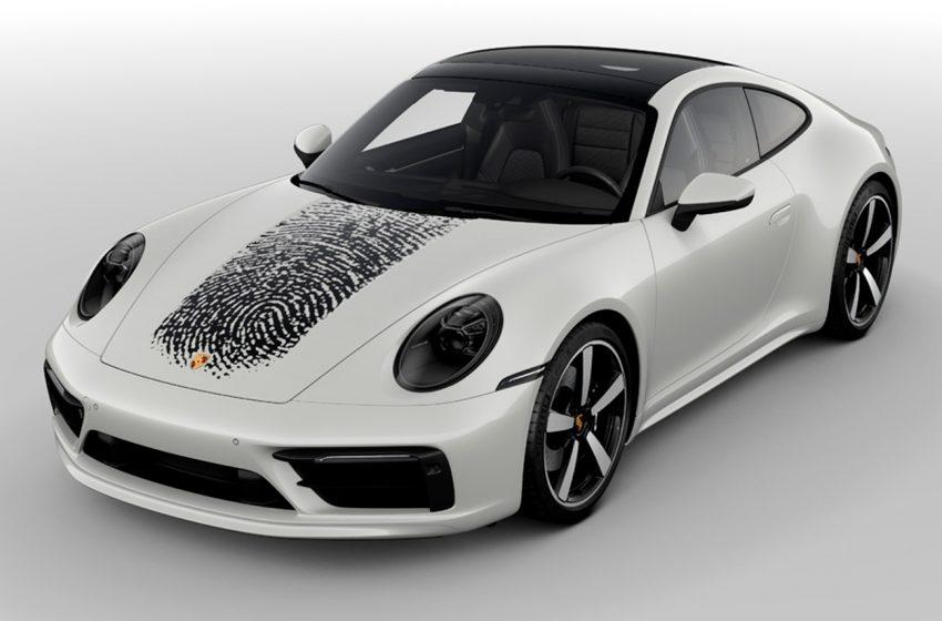 Un Porsche tan personal como tu propia huella digital