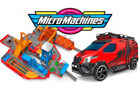 Regresan los Micro Machines