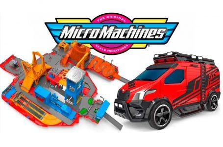 Regresan los Micro Machines