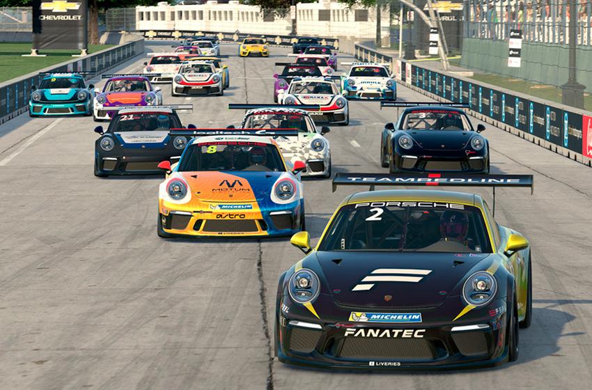 Más de 4,900 participantes intentan clasificarse para la Supercopa virtual de Porsche