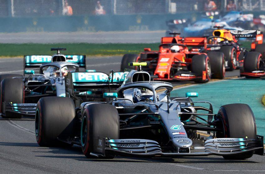 La Fórmula Uno adelanta y extiende vacaciones de verano por coronavirus
