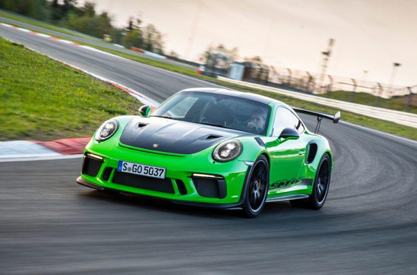 Porsche para la producción debido al coronavirus