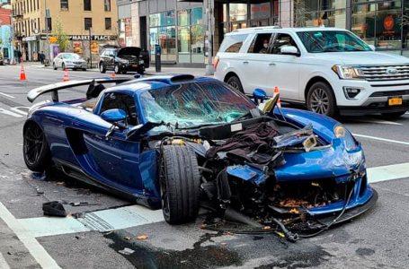 Destrozan un Gemballa Mirage GT en Nueva York